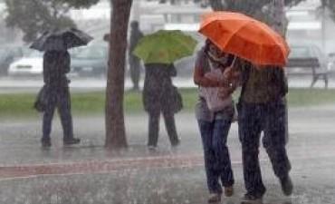 Cesó la alerta por fuertes tormentas para centro del país