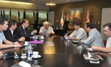 De la Sota lanzó un plan de reconstrucción de las zonas afectadas