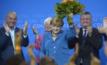 Merkel venció en las legislativas y va por su tercer mandato