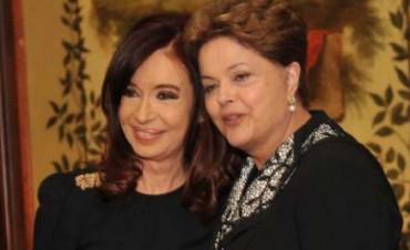 Dilma Rousseff y Nicolás Maduro le enviaron mensajes a Cristina Kirchner por Twitter