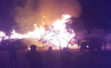 Sofocan incendio en Mendiolaza