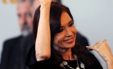Cristina Kirchner está de buen ánimo !